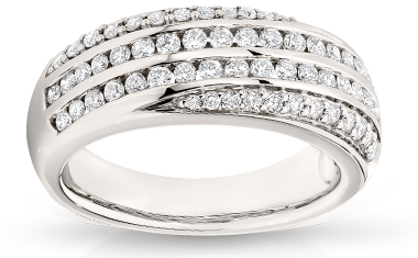 Diamond Rings At Austgold Manufacturing jewellers